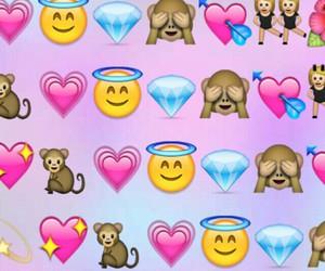 background, emojis, and emoji image