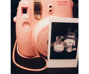 camera, fuji film, and polaroid image