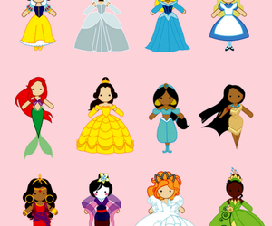 princess, disney, and cinderella image