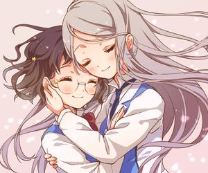 yuri, anime, and cute image