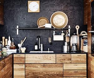black, home, and home decor image