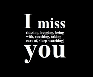 love, miss, and text image