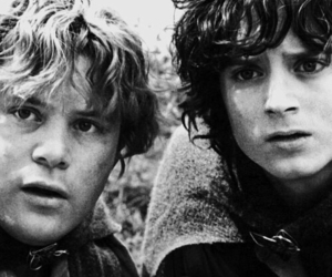 lord of the rings, Sam, and frodo baggins image