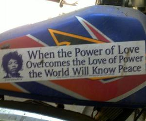 peace, power, and war image