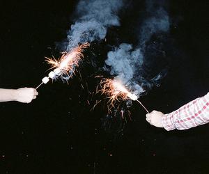 grunge, fireworks, and indie image
