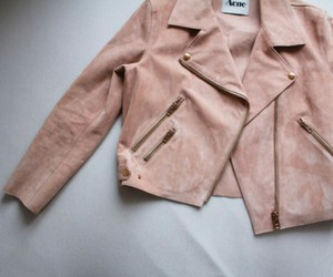 acne, jacket, and pink image
