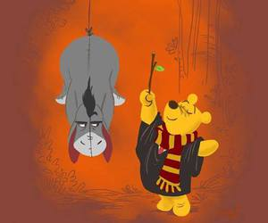 friend, winnie the pooh, and love image