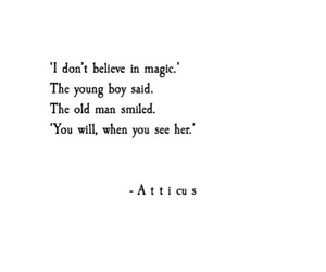 magic, love, and quotes image