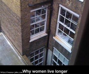 funny, long, and women image