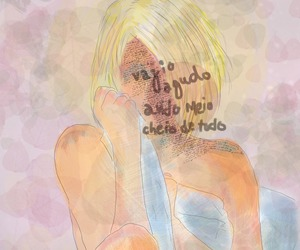 blonde, tristeza, and quotes image