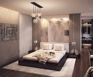 bedroom, fashion, and home image