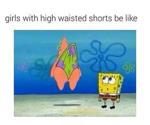 funny, spongebob, and patrick image