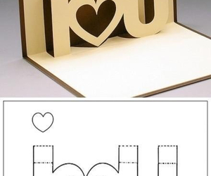 diy, love message, and velentine's day card image