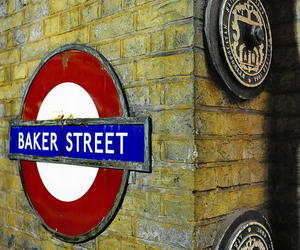 england, baker street, and london image