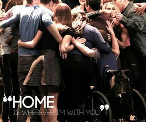 glee, home, and glee cast image