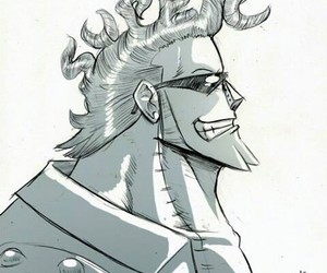 franky, one piece, and anime image