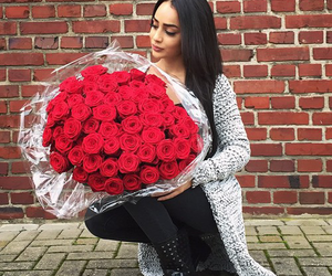 roses and red image
