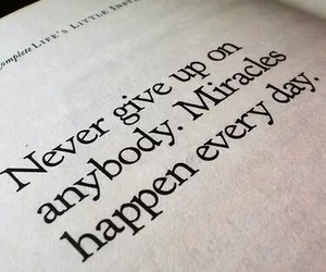 miracle, quotes, and text image