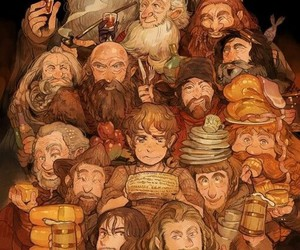hobbit, the hobbit, and book image
