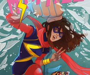Marvel, ms marvel, and kamala khan image