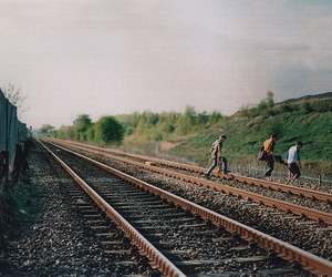 boy, train, and photography image