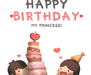 love and birthday image