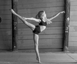 ballet, fit, and girl image