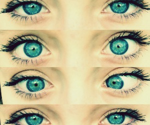 beautiful, blue, and eyes image