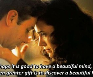 a beautiful mind, heart, and Jennifer Connely image