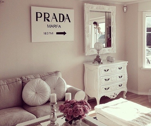 Prada, room, and home image