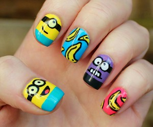 minions and nails image
