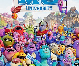 monster, disney, and monsters university image