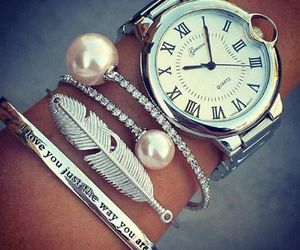 watch, bracelet, and style image