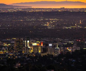 california, griffith park, and hollywood image