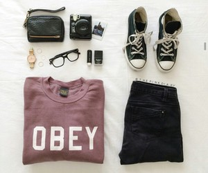 fashion, look, and obey image