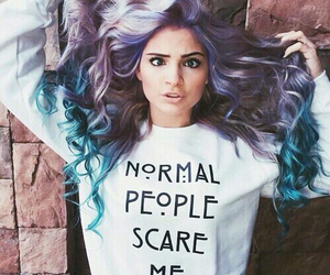 awesome hair, fashion, and style image