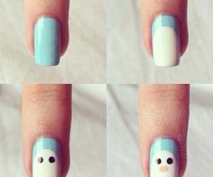 nails, diy, and cute image
