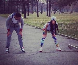 girl, sport, and sandra afrika image