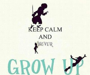 peter pan, never, and disney image