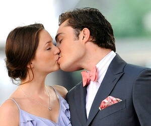 gossip girl, love, and kiss image