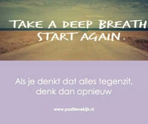 geluk, positief, and quote image