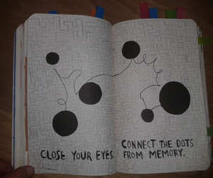 connect the dots, dots, and wreck this journal image