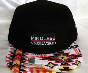 aztec, mindless creations, and hat image