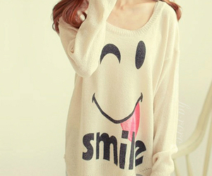smile, fashion, and clothes image