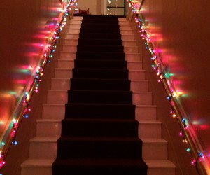 lights and stairs image