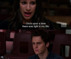 glee, quote, and rachel berry image