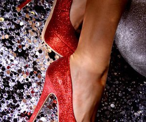 bling, girly, and heels image