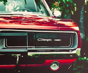 car, red, and charger image