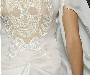 skull, fashion, and Alexander McQueen image