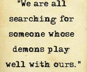 demon, quotes, and love image